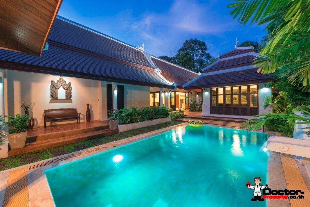 3 Bedroom Villa - Bang Kao - Koh Samui - for sale