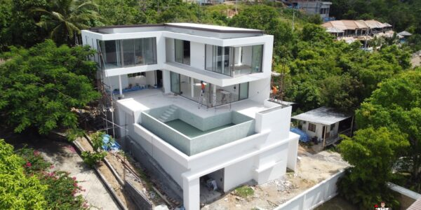 New 3 Bedroom Pool Villa With Sea Views - Bo Phut, Koh Samui - For Sale