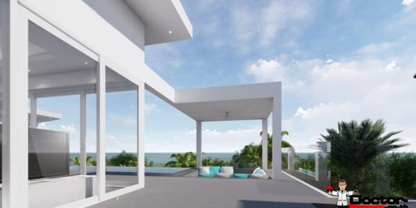 New 3 Bedroom Pool Villas, Sea View - Bo Phut, Koh Samui - For Sale