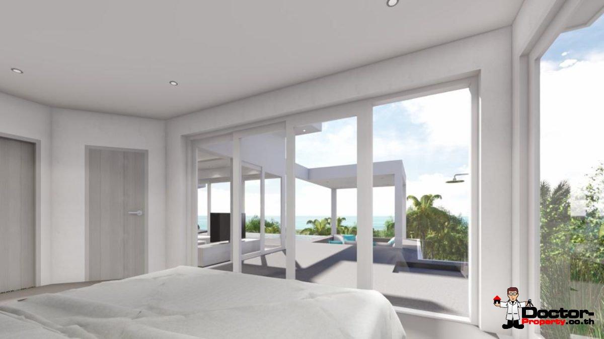 New 3 Bedroom Pool Villas, Sea View - Bo Phut, Koh Samui - For Sale