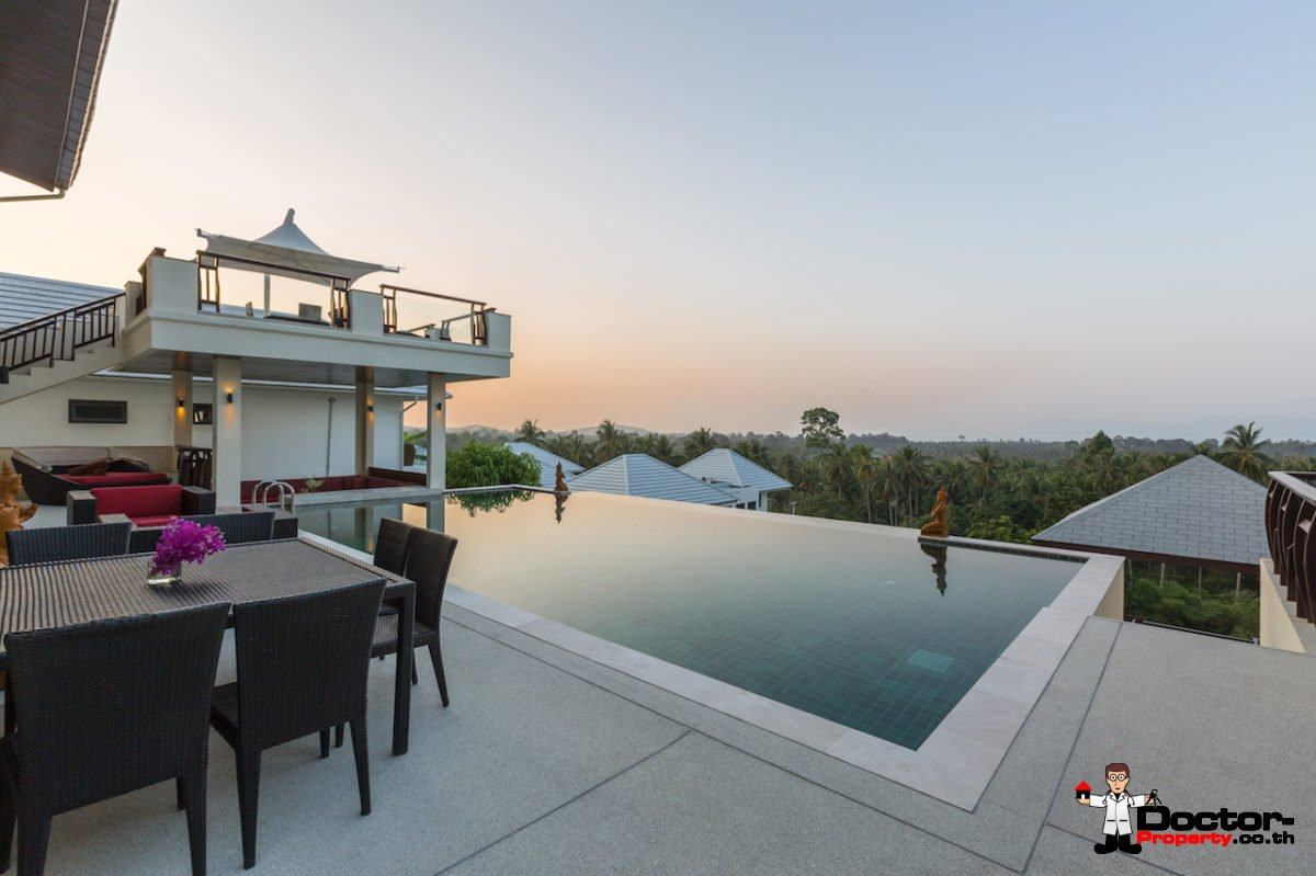 Stunning 6 Bedroom Sea View Villa - Maenam - Koh Samui - for sale