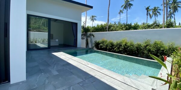 New Furnished 2 Bedroom Pool Villa - Bo Phut, Koh Samui - For Sale