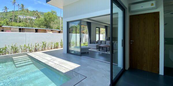New Furnished 2 Bedroom Pool Villa - Bo Phut, Koh Samui - For Sale