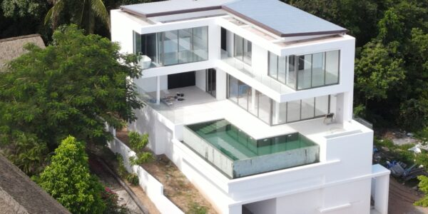 New 3 Bedroom Pool Villa With Sea Views – Bo Phut, Koh Samui – For Sale