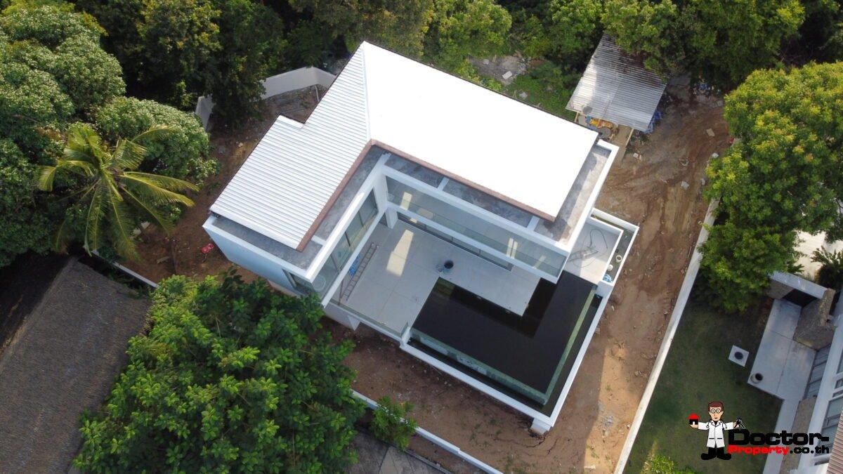 New 3 Bedroom Pool Villa With Sea Views – Bo Phut, Koh Samui – For Sale