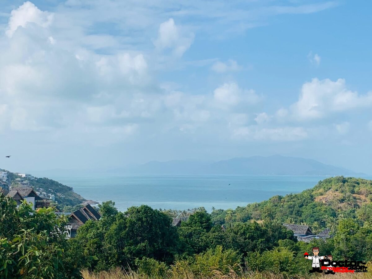 37 Rai Amazing Sea View Land - Choeng Moon - Koh Samui - for sale