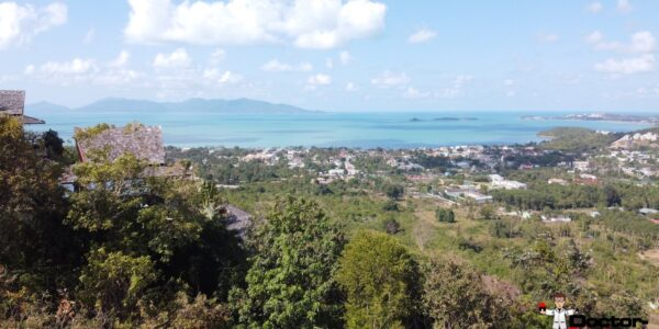 2 Rai Land with Stunning Sea Views - Bo Phut, Koh Samui - For Sale