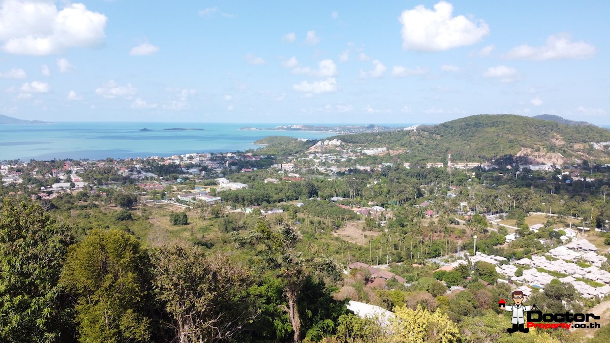 2 Rai Land with Stunning Sea Views - Bo Phut, Koh Samui - For Sale