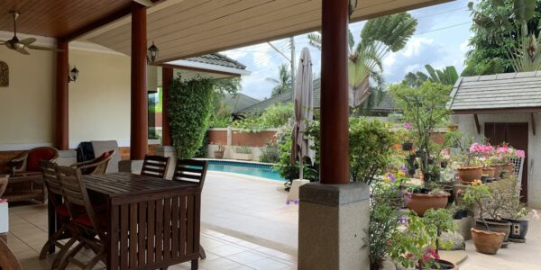 A Cosy 3 Bedroom Pool Villa - Nathon, Koh Samui - For Sale