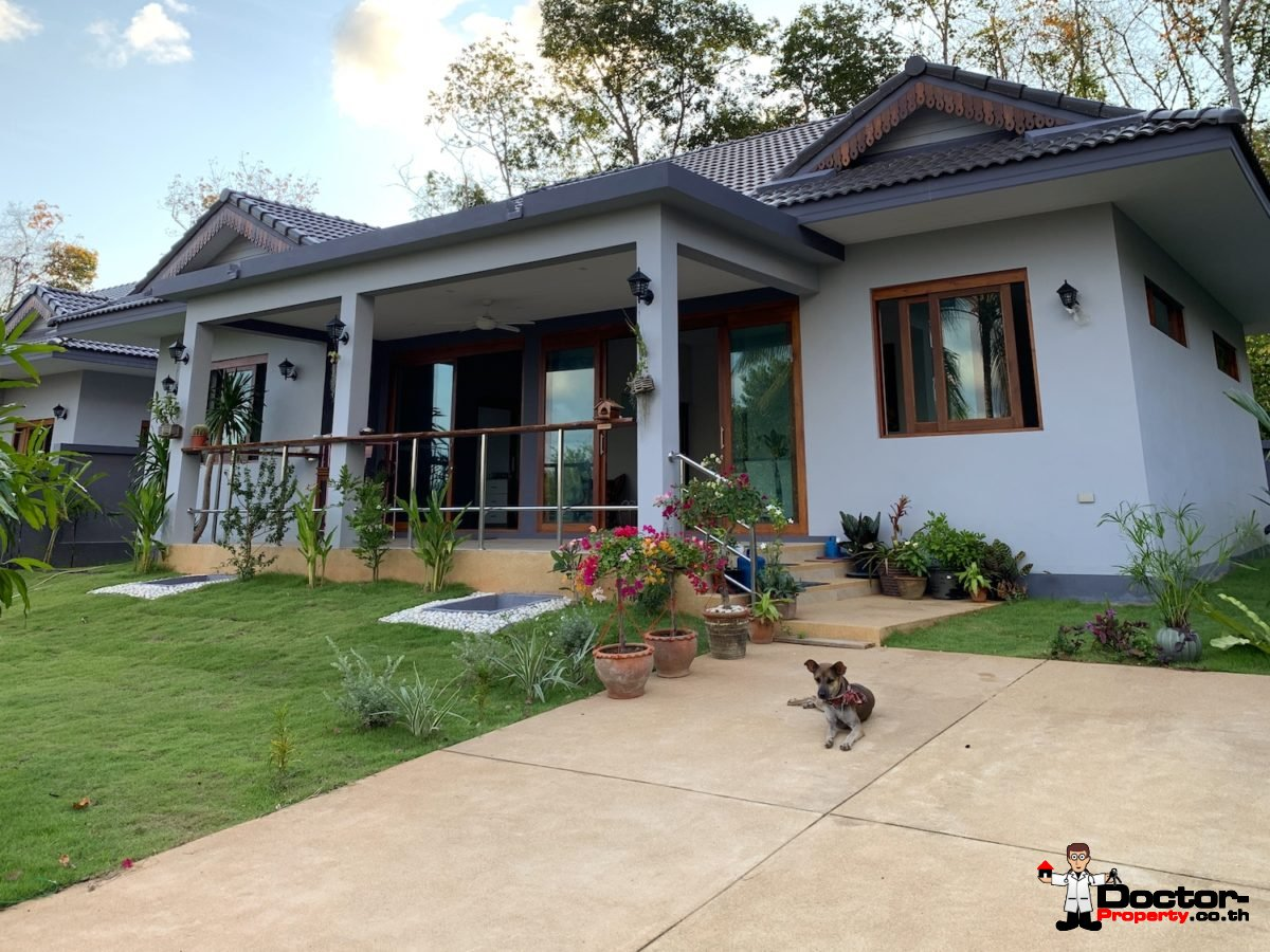 2 Bedroom House with Beautiful Garden - Taling Ngam, Koh Samui - For Sale