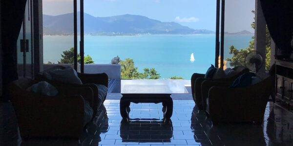 3 Bedroom Villa with Stunning Sea View - Plai Laem, Koh Samui - For Sale