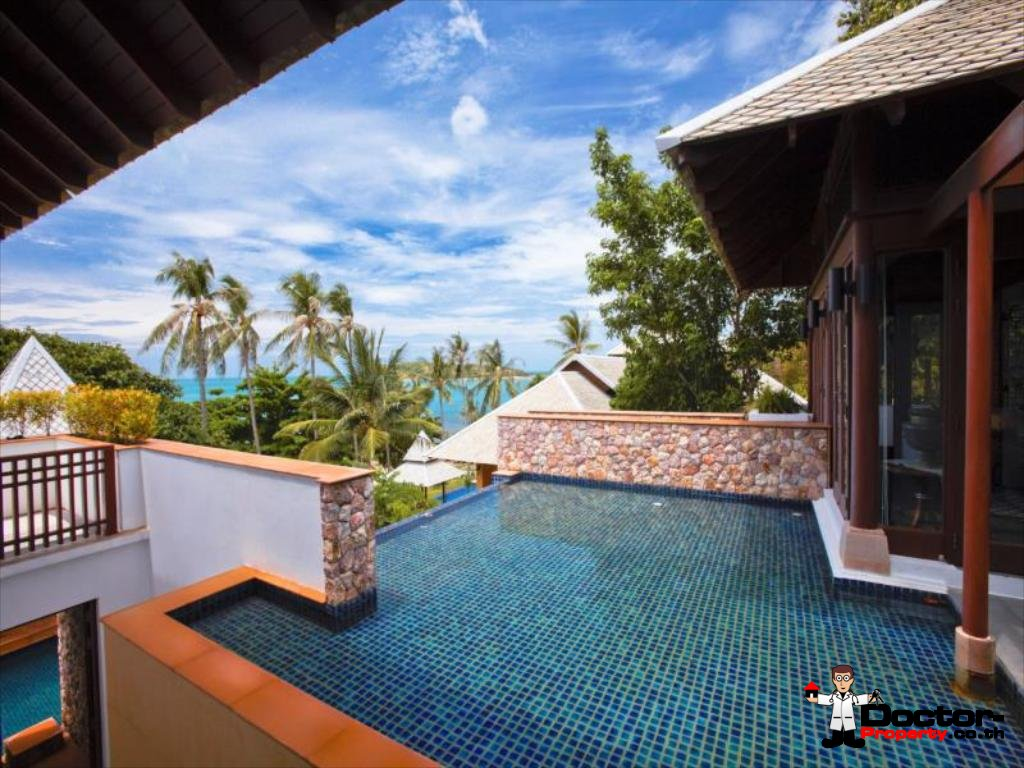 Samui Beachfront Resort with 15 Bedrooms - Choeng Mon, Koh Samui - For Sale