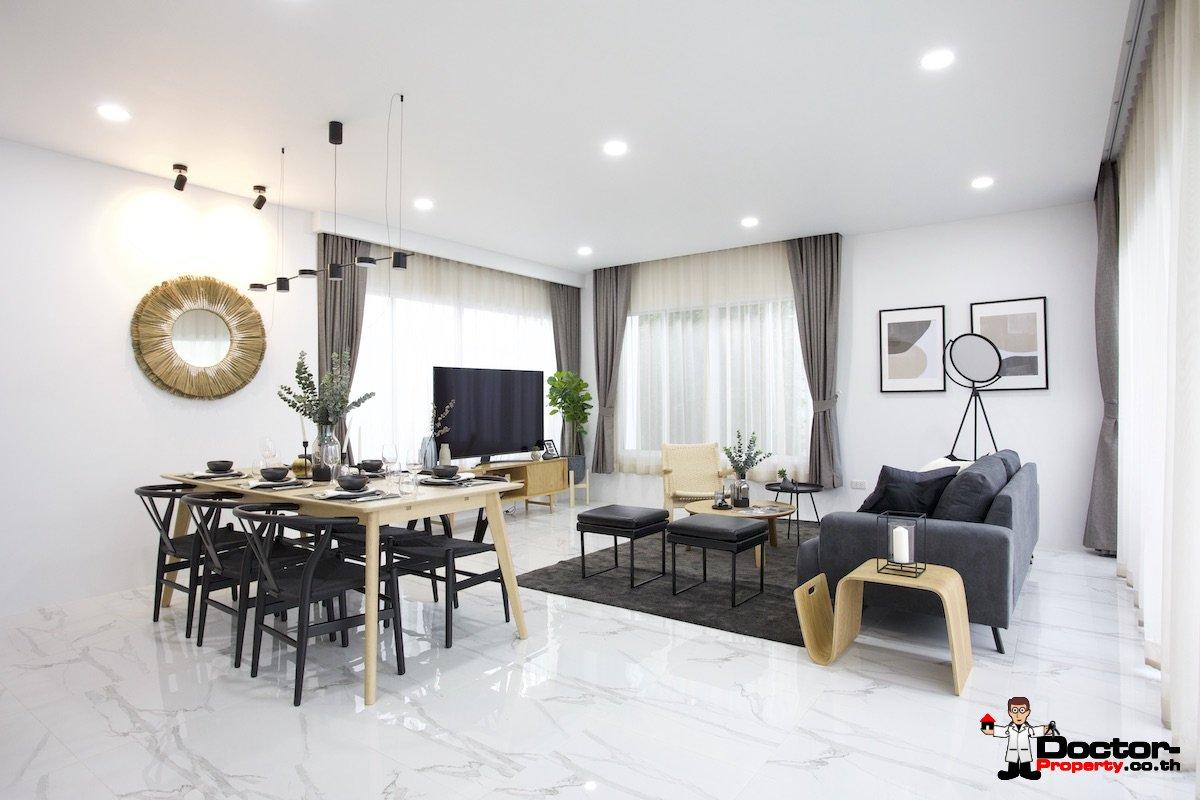 New Private 3 Bedroom House with Pool - Bang Rak, Koh Samui