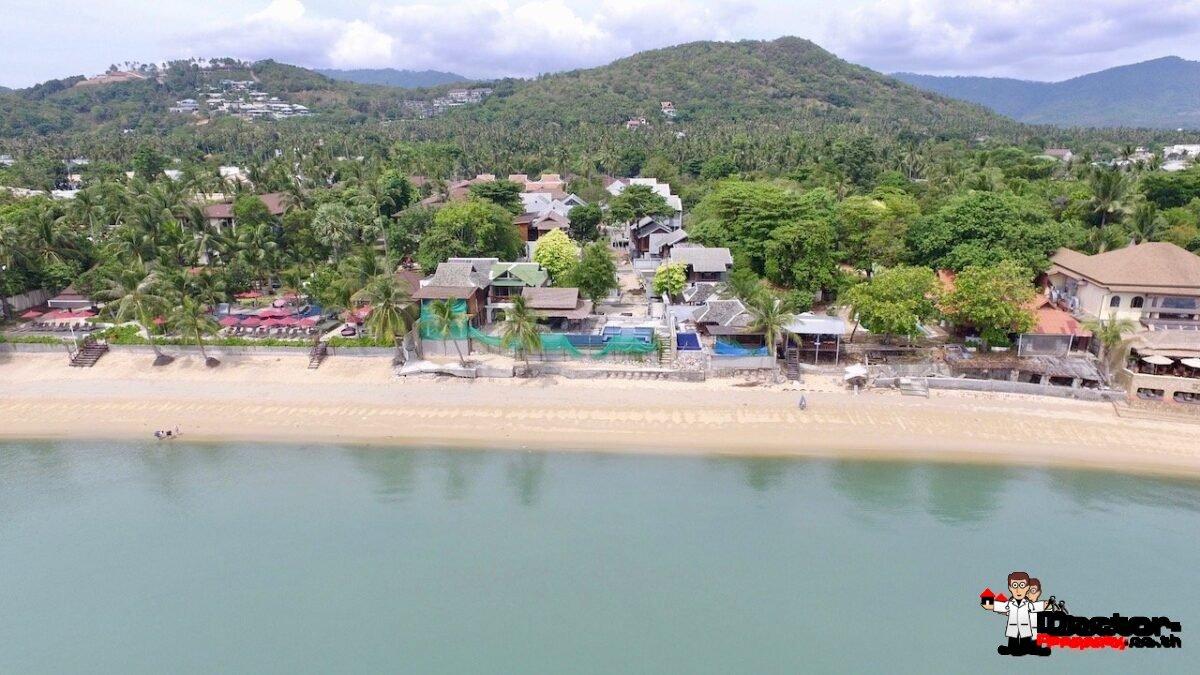 Beachfront Resort - Bophut, Koh Samui - For Sale