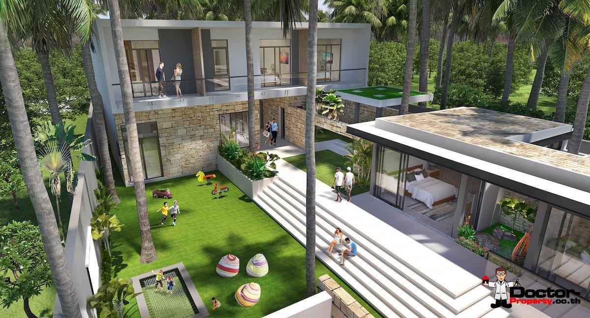 New 6 Bedroom Beachfront Villa - Laem Sor, Koh Samui - For Sale