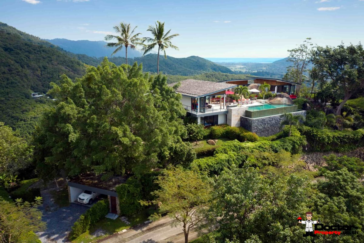 5 Bedroom Sea View Villa - Taling Ngam -Koh Samui - for sale