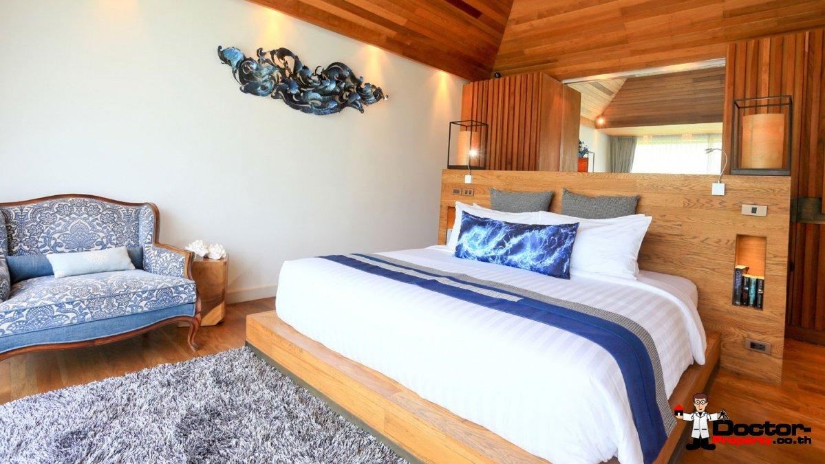 Beachfront Boutique Resort - 14 Villas, Plai Leam, Koh Samui for sale