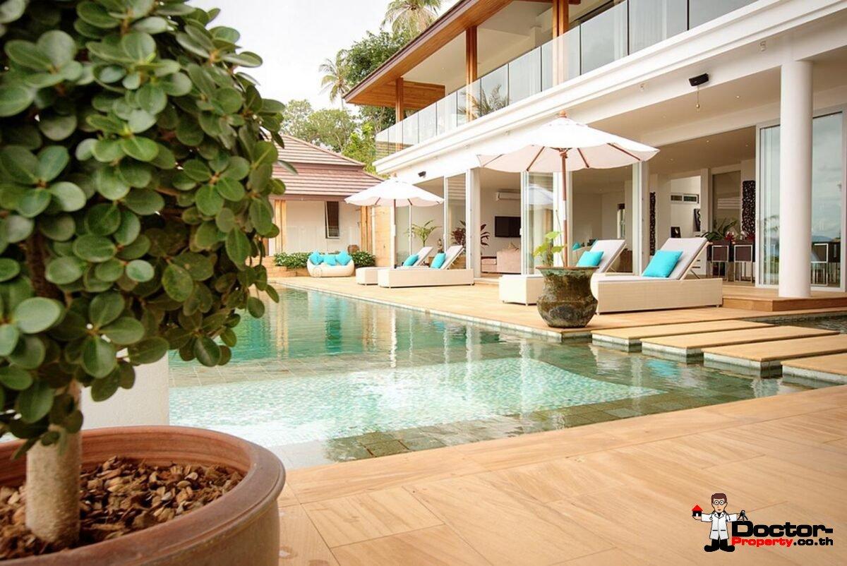 6 Bedroom Sea View Villa - Bang Por - Koh Samui - for sale