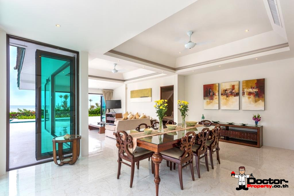 4 Bedroom Beachfront Villa - Hua Thanon - Koh Samui - for sale