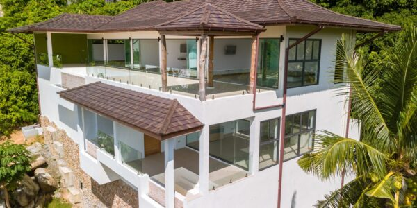 3 Bedroom + 2 Studio's Apartment Villa with Seaview - Lamai, Koh Samui - For Sale