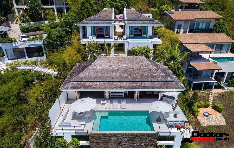 Fantastic 3 Bedroom Sea Villa - Plai Laem - Koh Samui - for sale