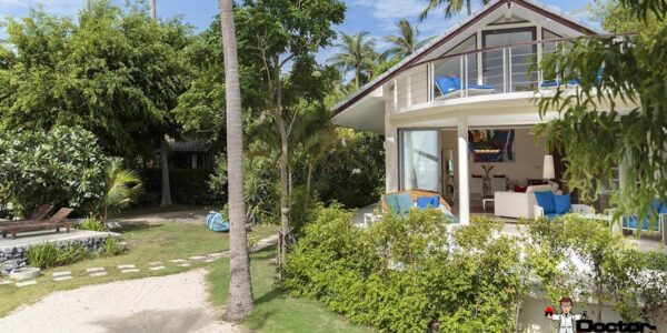 3 Bedroom Beachfront Villa - Plai Laem - Koh Samui - for sale