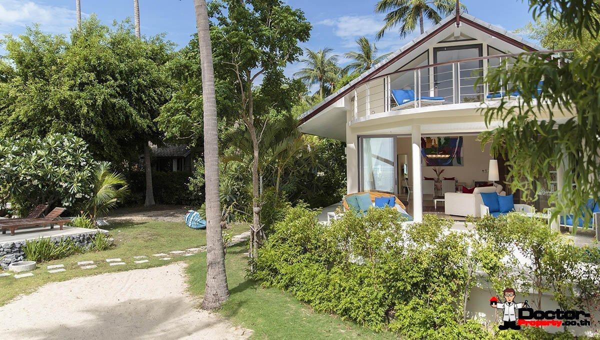3 Bedroom Beachfront Villa - Plai Laem - Koh Samui - for sale
