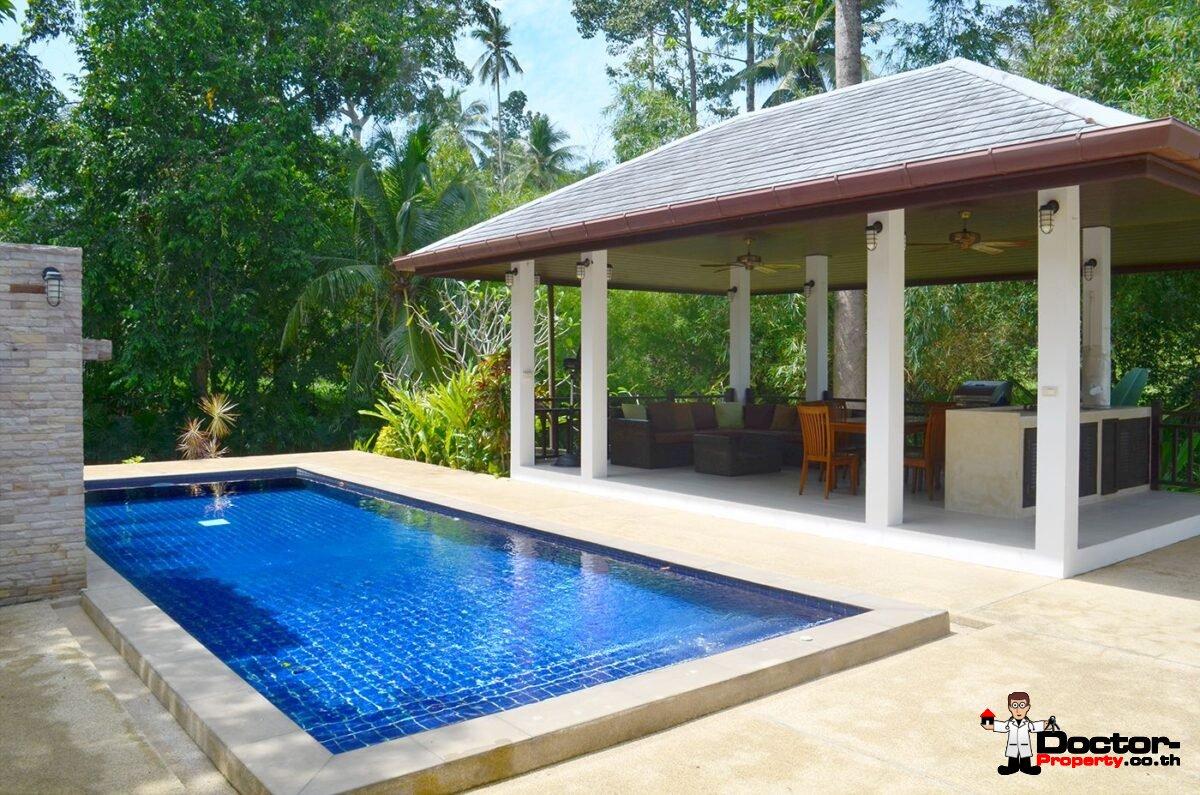 3 Bedroom Pool Villa - Mae Nam - Koh Samui - for sale