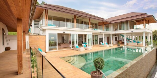 6 Bedroom Sea View Villa - Bang Por - Koh Samui - for sale