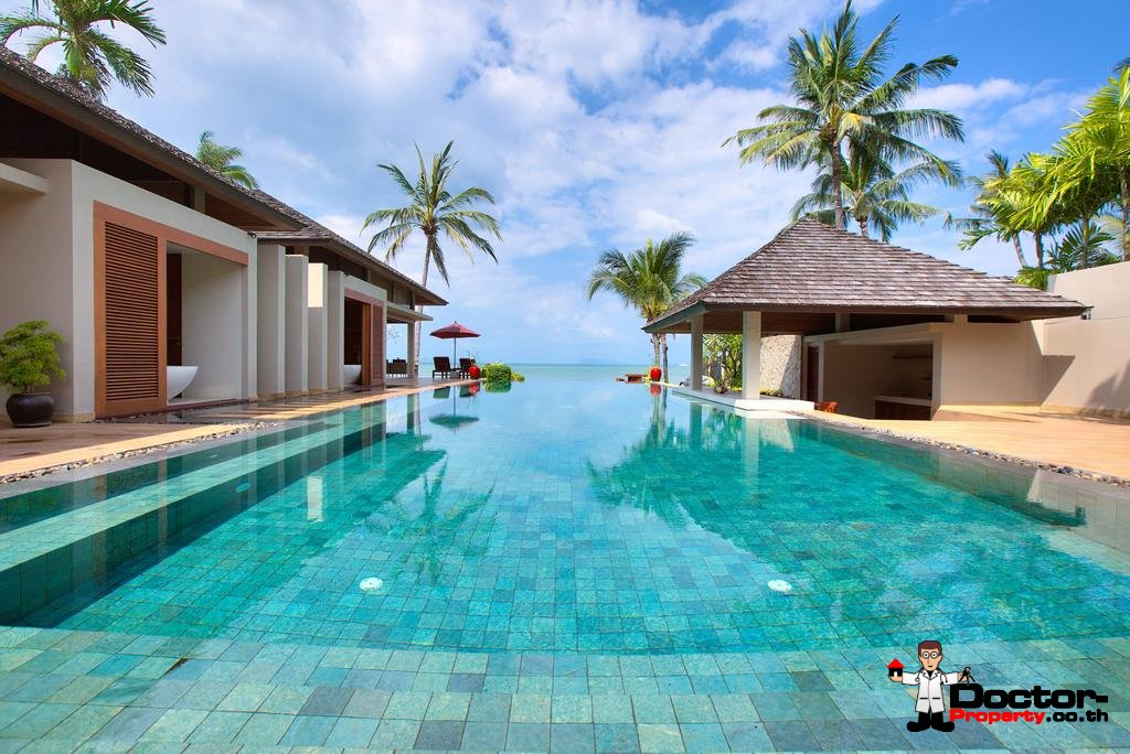 5 Bedroom Luxury Beachfront Villa - Nathon - Koh Samui - for sale