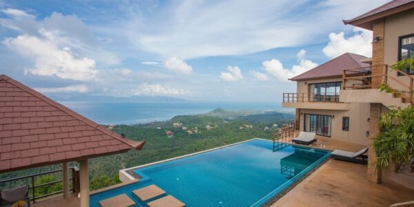 5 Bedroom Villa with Sea View - Bang Por - Koh Samui - for sale