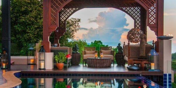 5 Bedroom Villa with Sea View - Bophut - Koh Samui - for sale