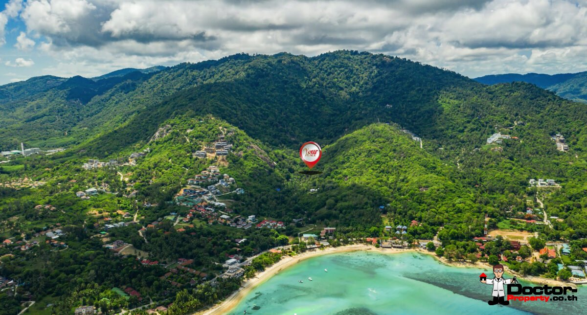 Sea View Land - Hua Thanon, Koh Samui - For Sale