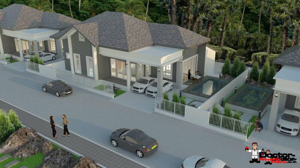 New 3 Bedroom Pool Villa - Taling Ngam, Koh Samui - For Sale