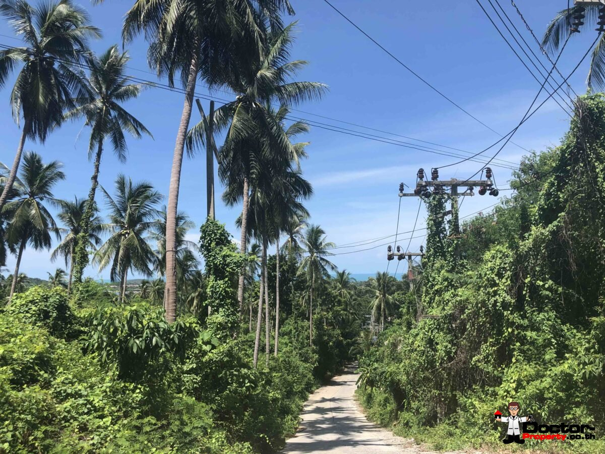 Sea View Land - Chaweng - Koh Samui - for sale