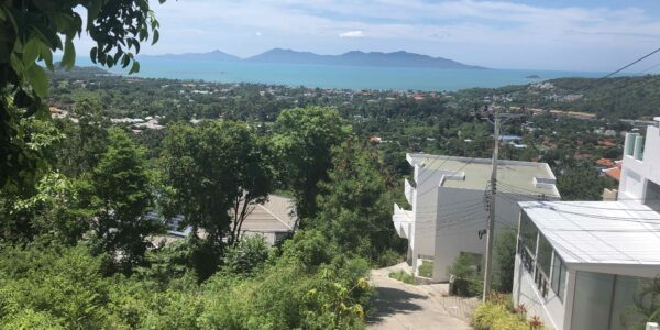 Perfect Sea View Land - Bophut - Koh Samui - for sale
