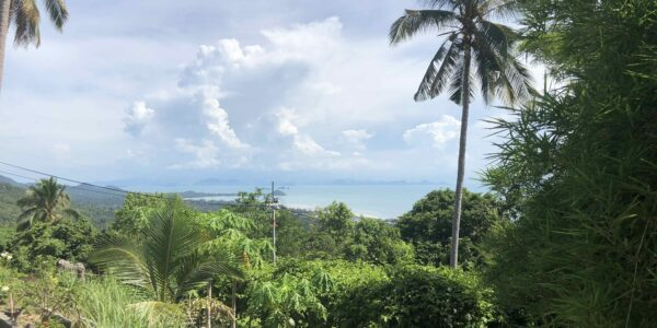 Amazing Sea View Plot - Nathon - Koh Samui - for sale