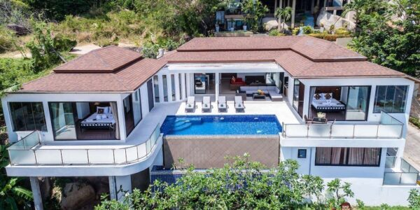 4 Bedroom Sea View Villa - Lamai - Koh Samui - for sale