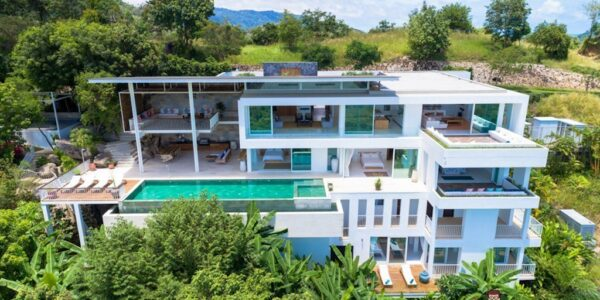 Fantastic 4 Bedroom Sea View Villa - Taling Ngam - Koh Samui - for sale