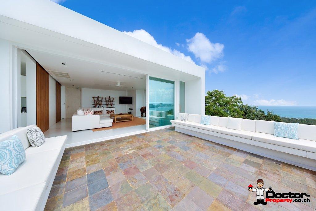 Fantastic 4 Bedroom Sea View Villa - Taling Ngam - Koh Samui - for sale