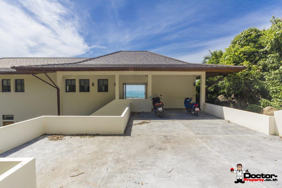 3 Bedroom + 2 Studio's Apartment Villa with Seaview - Lamai, Koh Samui - For Sale