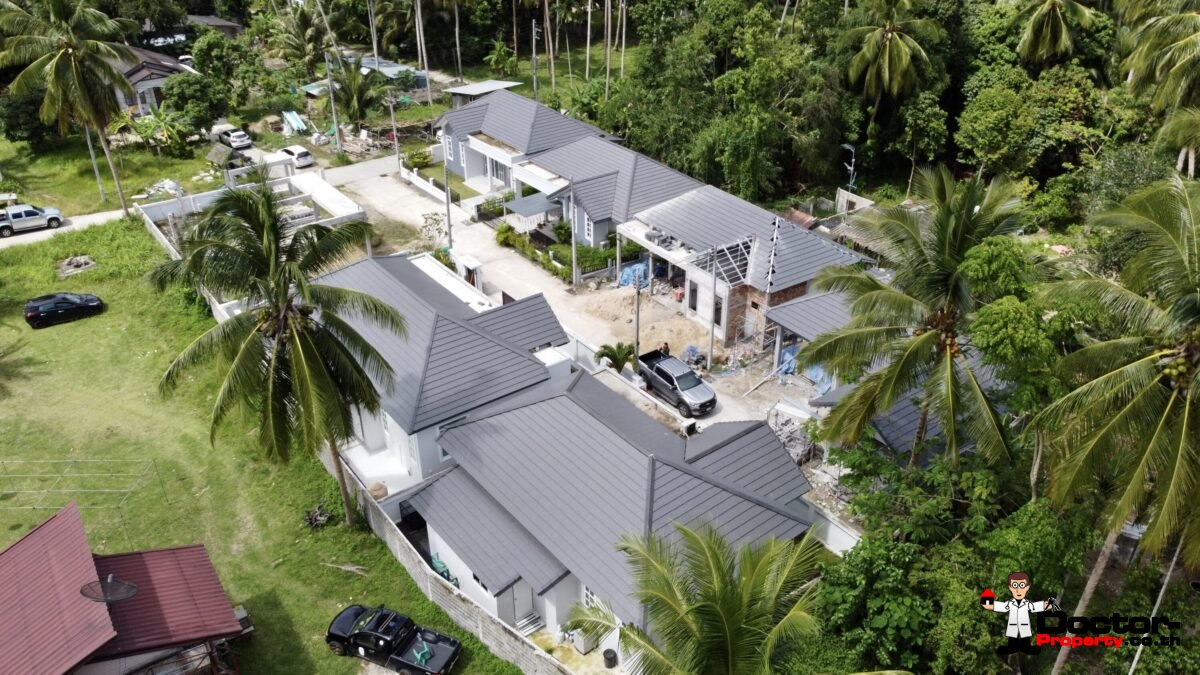 New 3 Bedroom Pool Villa – Taling Ngam, Koh Samui – For Sale