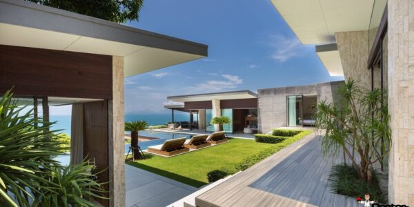 4 Bedroom Villa with Sea View - Bang Por - Koh Samui - for sale