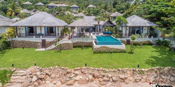 Beachfront 4 Bedroom Villa - Chaweng Beach - Koh Samui - for sale