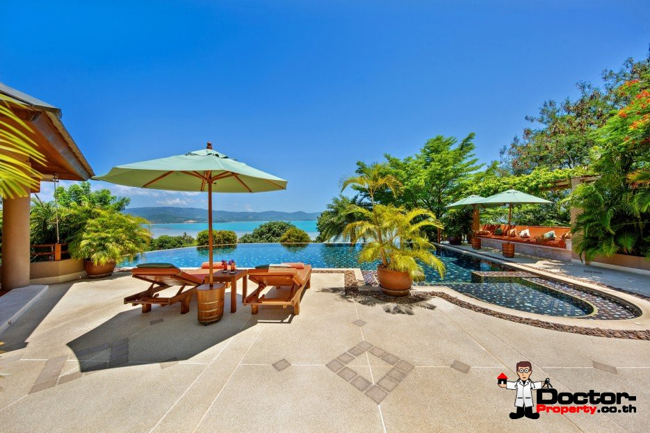 Stunning 4 Bedroom Sea View Villa - Plai Laem - Koh Samui - for sale