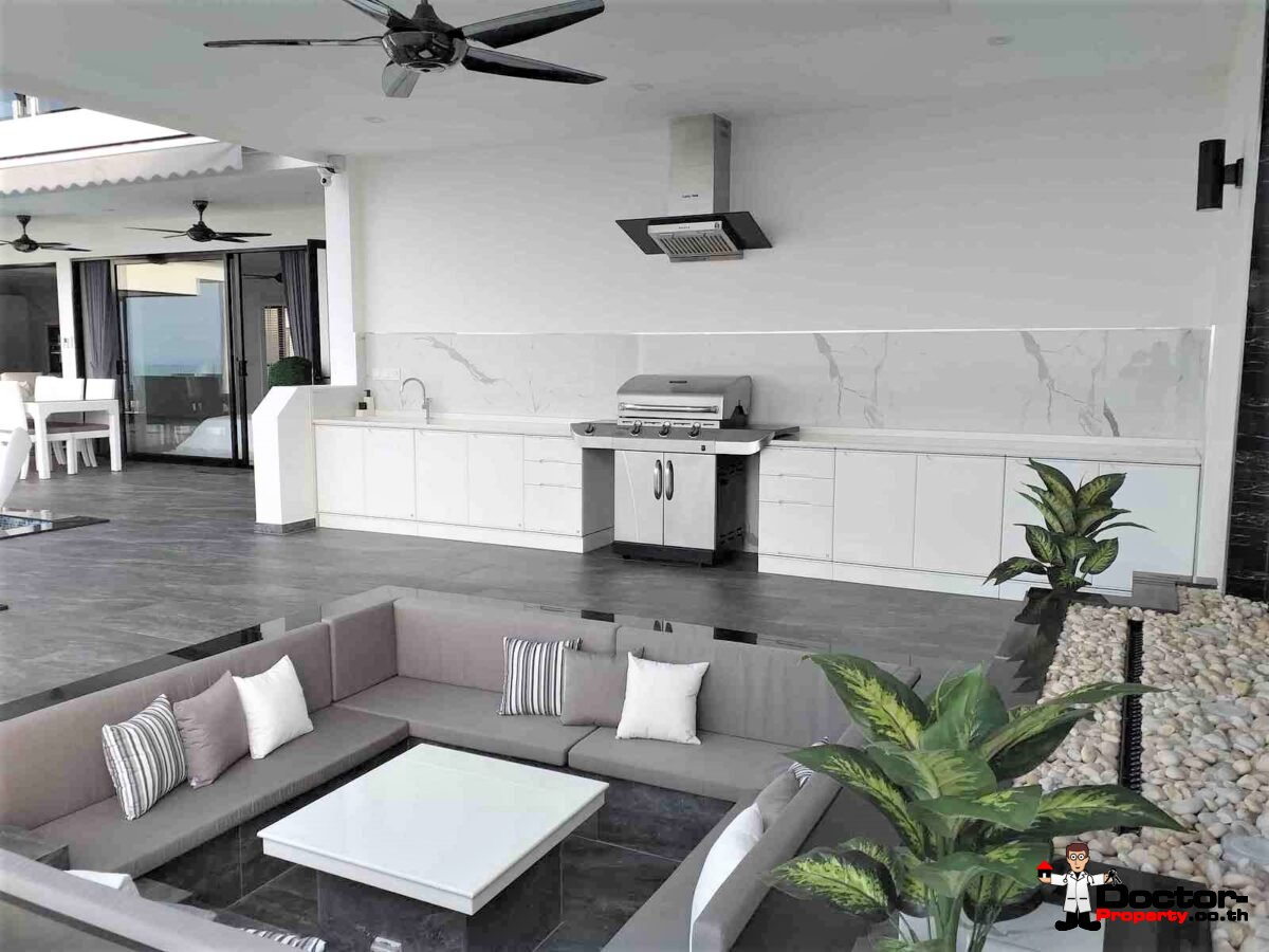 New 3 Bedroom Villa with Sea View - Nathon - Koh Samui - for sale