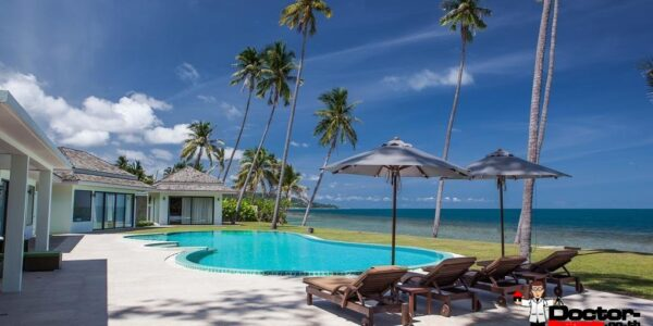 4 Bedroom Beachfront Villa - Laem Sor - Koh Samui - for sale
