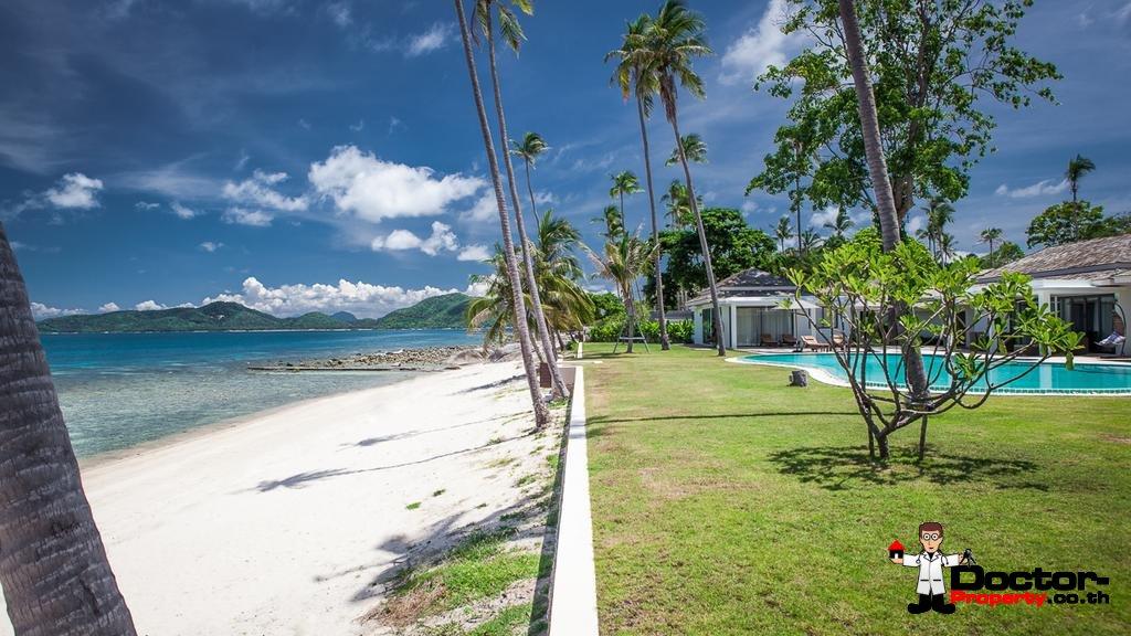 4 Bedroom Beachfront Villa - Laem Sor - Koh Samui - for sale