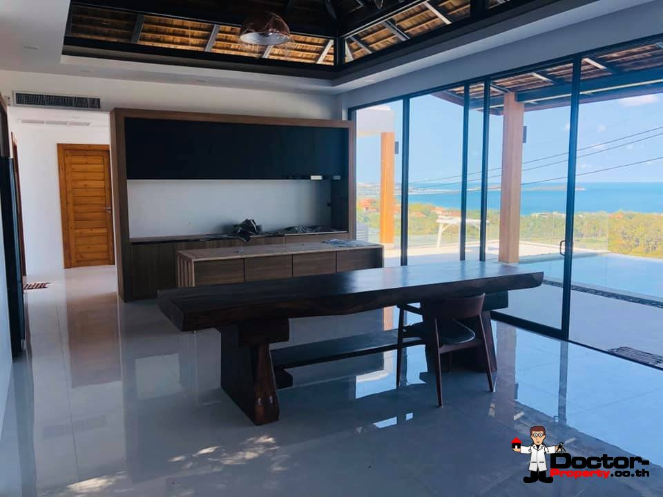 3 Bedroom Villa with Sea View - Chaweng Noi - Koh Samui - for sale
