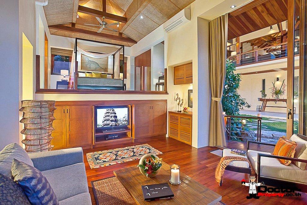 4 Bedroom Sea View Pool Villa - Laem Set - Koh Samui - for sale